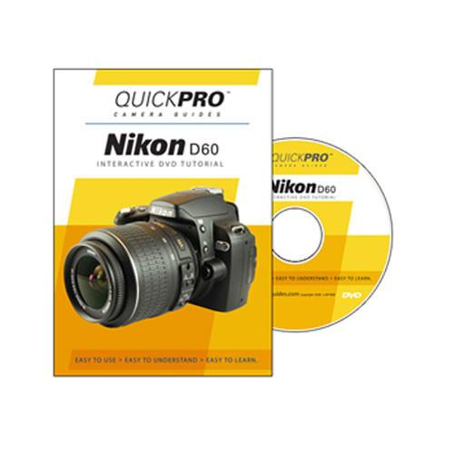 QuickPro  DVD: Nikon D60 Digital SLR Camera 1239