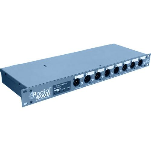 Radial Engineering SW8 8-Channel Auto-Switcher R800 8100
