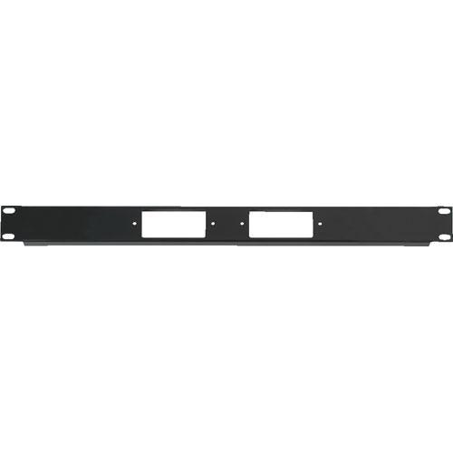 Raxxess  1U Two Decora Device Rack Panel DCR-1X2