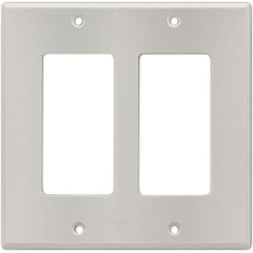 RDL CP-2S Stainless Steel Double (Side-by-Side) Cover Wall CP-2S