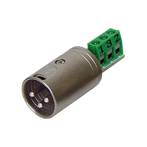 Rolls XLM113 3-Pin XLR Male Termination Plug for Bare XLM113