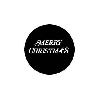 Rosco Steel Gobo #7939 - Merry Christmas 250779390860
