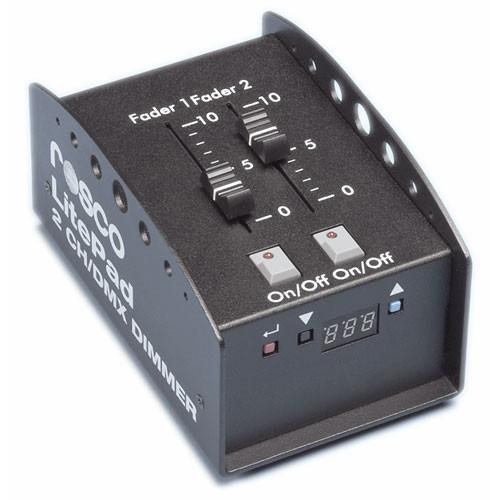 Rosco Two Channel DMX Dimmer for LitePad 290641000012