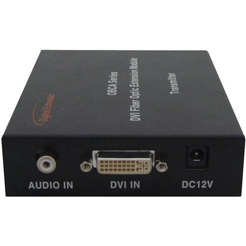 RTcom USA OBCA-BOX DVI with Audio Fiber-Optic Extension OBCA-BOX