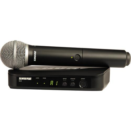 Shure Basic Wireless Handheld Microphone and Lavalier Kit