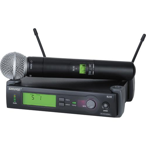 Shure SLX Series Basic Wireless Lavalier and Handheld