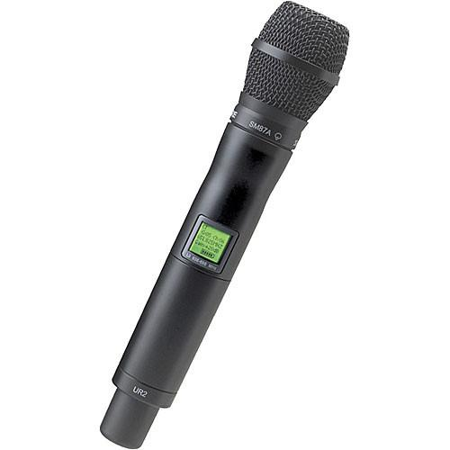 Shure UR2 Handheld Wireless Microphone Transmitter UR2/SM87-G1