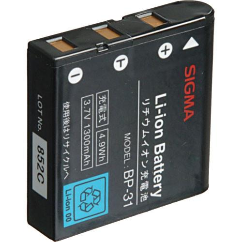 Sigma BP-31 Rechargeable Lithium-ion Battery for Sigma DP D00018