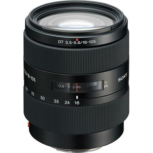 Sony 16-105mm f/3.5-5.6 DT Standard Zoom Lens SAL16105