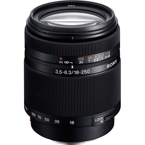 Sony 18-250mm f/3.5-6.3 DT Alpha A-Mount Wide-Telephoto SAL18250