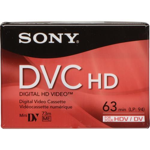 Sony DVM-63HD 63 Minute Mini DV HD Video Cassette (Set of 3)