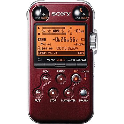 Sony PCM-M10 Portable Audio Recorder (Red) PCMM10/R