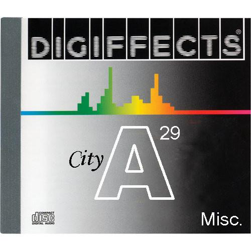 Sound Ideas Digiffects City SFX - Traffic, SS-DIGI-A-29