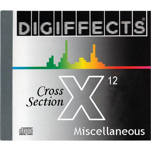Sound Ideas Digiffects Cross Section Sound Effects SS-DIGI-X-12