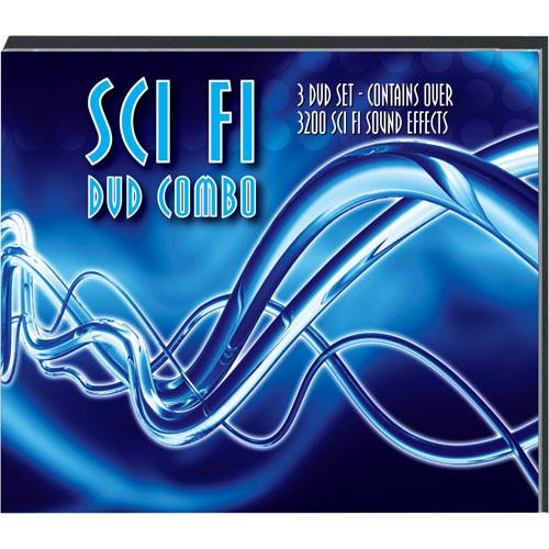 Sound Ideas The Sci Fi DVD Combo Sound Effects SCI-FI DVD COMBO