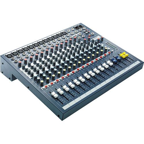 Soundcraft EPM 12 - 12 Mono   2 Stereo Audio Console RW5736US