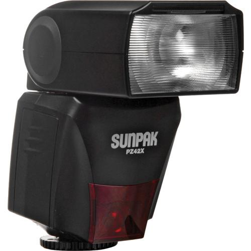 Sunpak PZ42X TTL Flash for Nikon DSLR Cameras PZ42XN