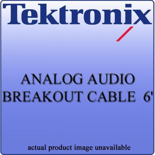 Tektronix WFM702062 Analog Audio Breakout Cable WFM702062