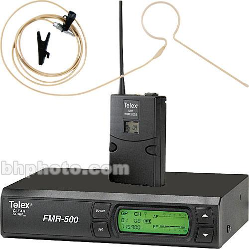 Telex FMR-500 Wireless Headset Microphone System F.01U.144.711