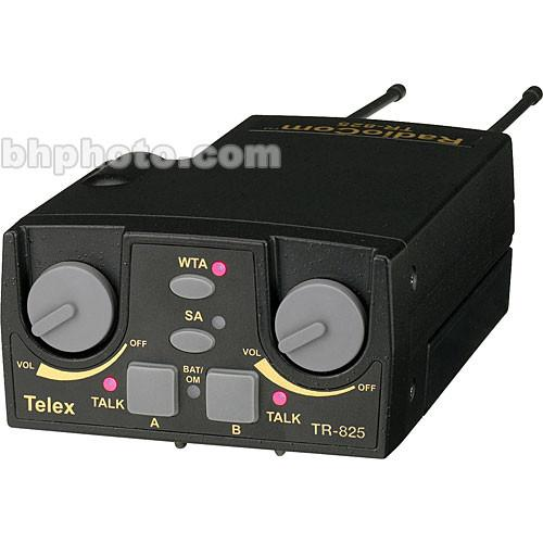 Telex TR-825 2-Channel Binaural UHF Transceiver F.01U.145.972