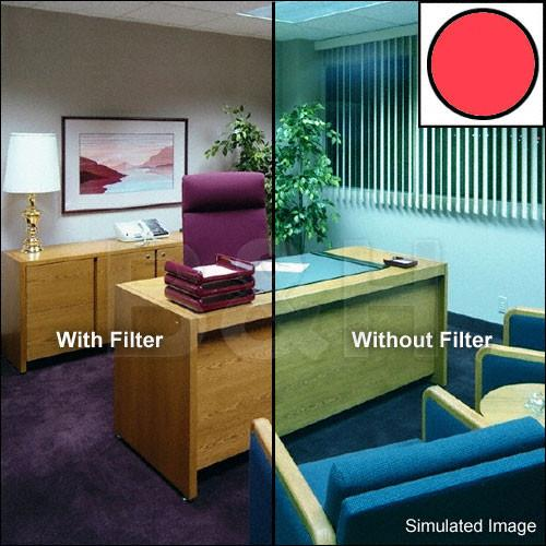 Tiffen 138mm Decamired Red 6 (Warming) Glass Filter 138DMR6