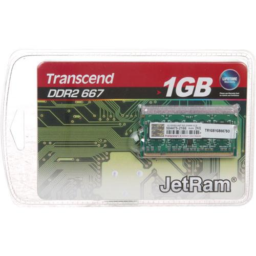 Transcend 1GB SO-DIMM Memory for Notebook JM667QSU-1G