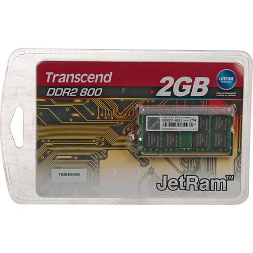 Transcend 2GB SO-DIMM Memory for Notebook JM800QSU-2G