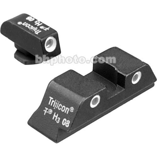 Trijicon Glock 3 Dot Front & High Rear Bright & GL04