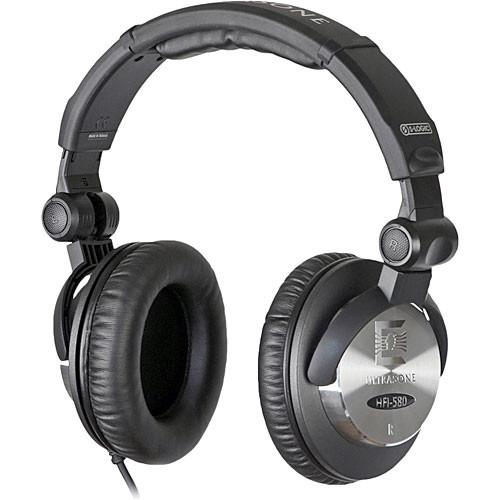 Ultrasone HFI-580 Closed-Back Stereo Headphones HFI 580