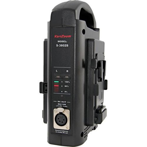 VariZoom SC-3802S Battery Charger with Power Supply S-3802S