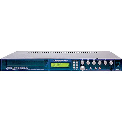 VocoPro CDR-1000 Pro - Single Rack-Space CD Player CDR-1000 PRO