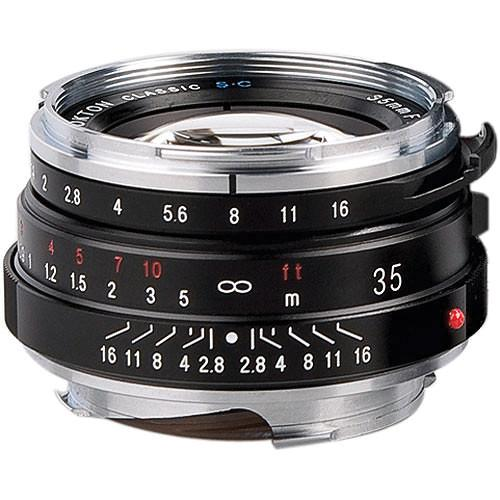 Voigtlander Nokton Classic 35mm f/1.4 Manual Focus M BA243B
