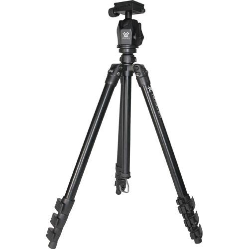 Vortex Ridgeview 4-Section Tripod w/ Quick Release Ball RDGVW