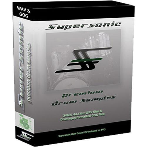 WaveMachine Labs Supersonic Samples Library for Drumagog SSFD