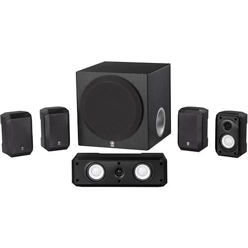 Yamaha NS-SP1800BL 5.1-Channel Home Theater System NS-SP1800BL