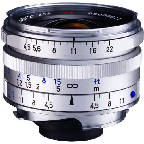 Zeiss Super Wide Angle 21mm f/4.5 C Biogon T* ZM Manual 1419-574