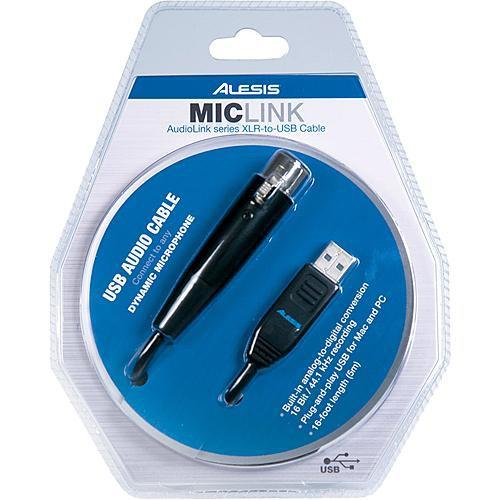 Alesis  MicLink - XLR to USB Cable MICLINK