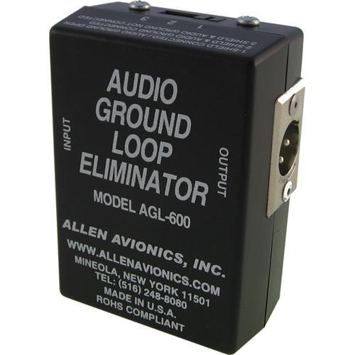 Allen Avionics AGL-600 Audio Ground Loop Isolation AGL-600