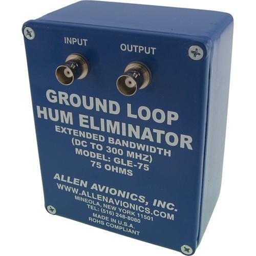 Allen Avionics GLE-75 Ground Loop Hum Eliminator without GLE-75