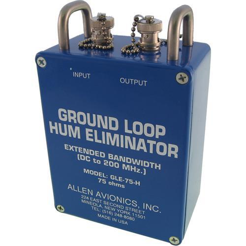Allen Avionics GLE-75-H Ground Loop Hum Eliminator GLE-75-H