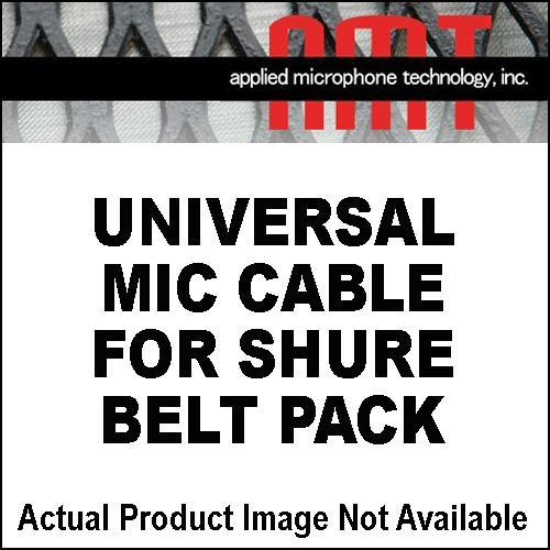 AMT Universal Mic Cable for Shure Beltpacks CABLE UNI - SHURE