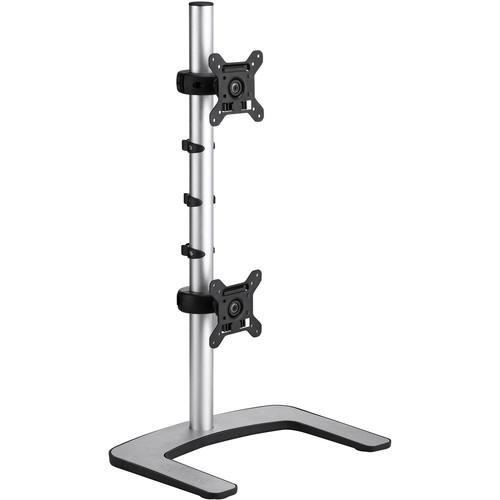 Atdec Visidec VFS-DV Freestanding Vertical Mount for Dual VFS-DV