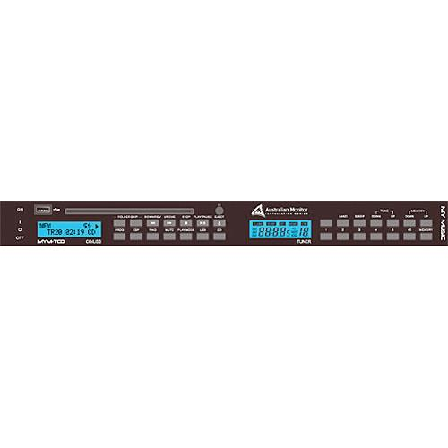 Australian Monitor MYM-TCD Rack-Mount CD/MP3 Player and MYM-TCD