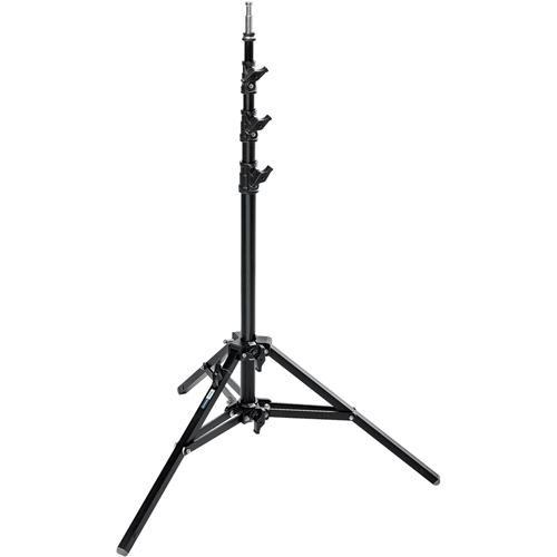 Avenger Baby Alu Stand 25 with Leveling Leg (Black, 8.2') A0025B