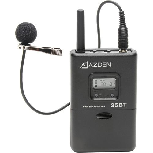 Azden 35BT Portable Wireless Bodypack Transmitter 35BT