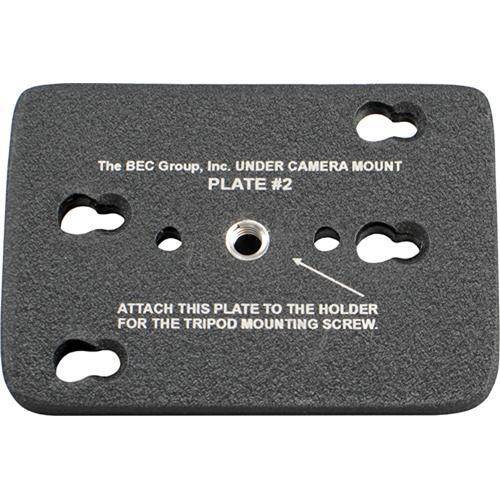 BEC Tripod Bottom Plate for Under Camera Placement BEC-BOTPLT 2