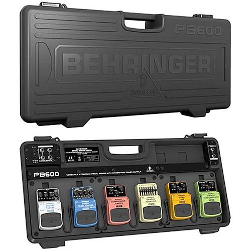 Behringer PB600 Universal Effects Pedalboard with 9V Power PB600