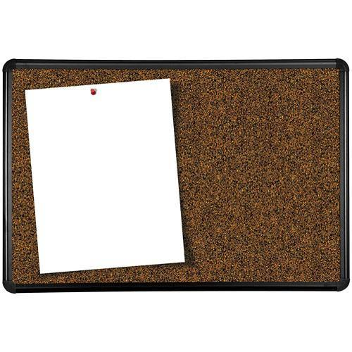 Best Rite Black Splash Cork Board with Presidential E300PD-T1