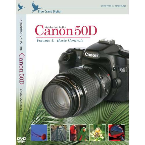 Blue Crane Digital Training DVD: Introduction to the Canon BC121