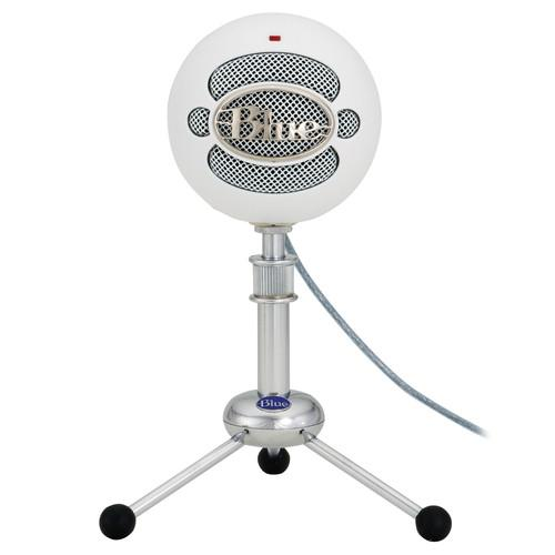Blue Snowball USB Condenser Microphone with Accessory Pack and